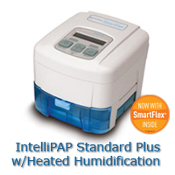 DV55D-HH-S DeVilbiss IntelliPAP® Bilevel S with Smartlink and Humidifier