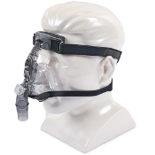 DeVilbiss FlexSet Nasal Mask with Forehead Adjustment, Silicone