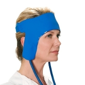 ThermaZone Continuous Thermal Therapy Device, Hot and Cold Therapy, Front and Side Head Pad
