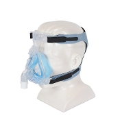 1081802, Respironics Comfort Gel Blue Full Face CPAP Mask and Headgear, Large