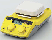 IKA yellow MAG HS 4 magnetic stirrers with heating